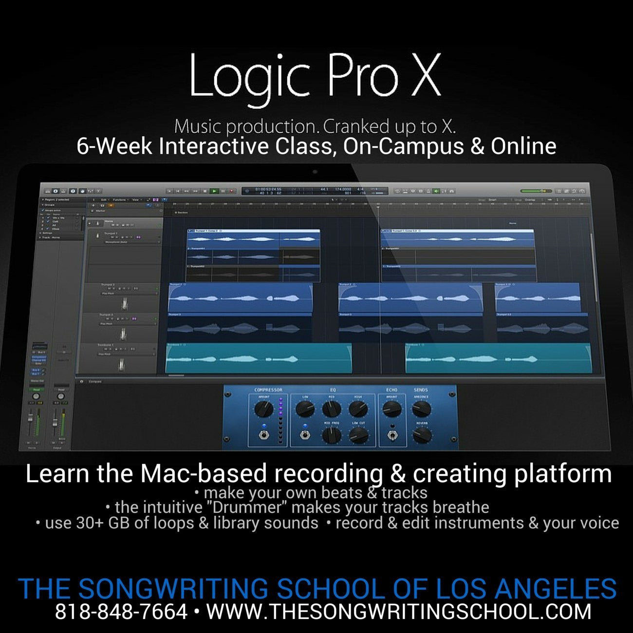 Production & Recording - The Songwriting School of Los Angeles