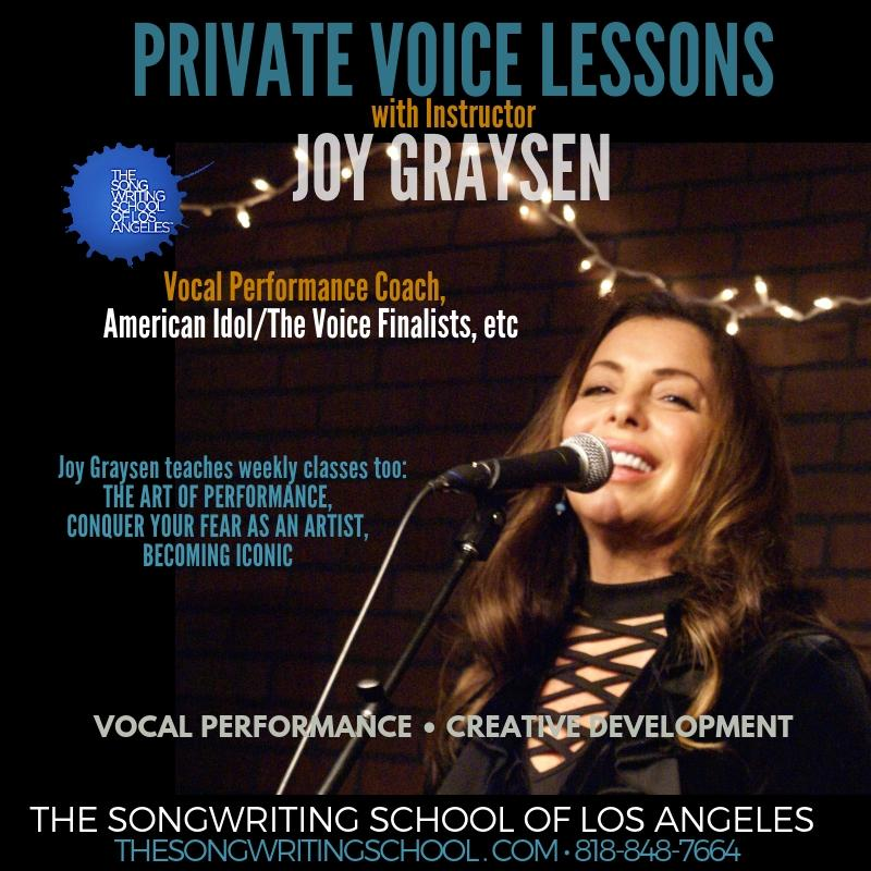 Voice & Instruments - The Songwriting School of Los Angeles