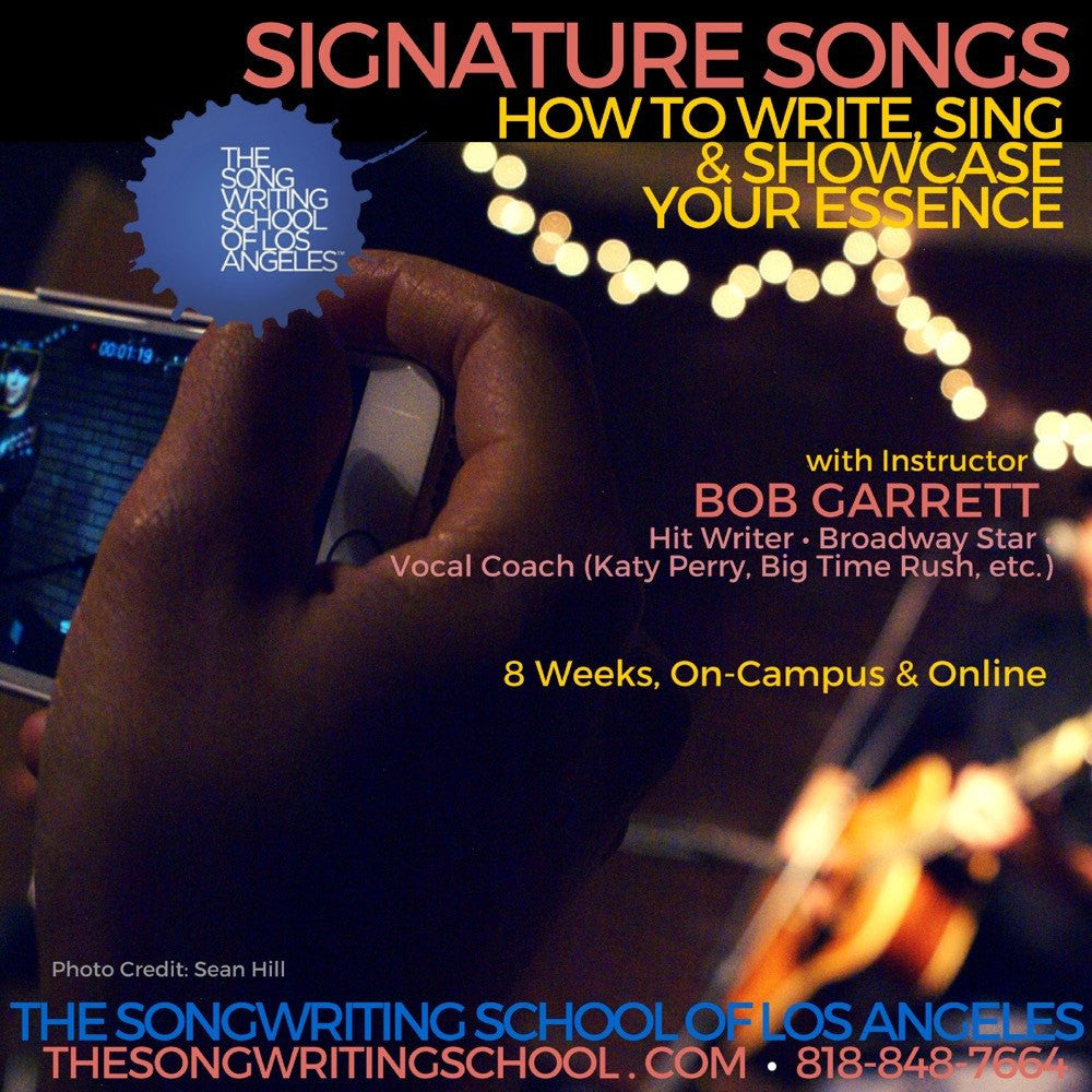 Killer chords for guitar the songwriting school of los angeles signature songs write sing showcase your essence spring 2017 starts tuesday hexwebz Gallery