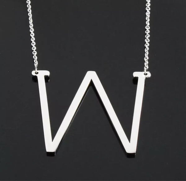 BIG Monogram Necklace