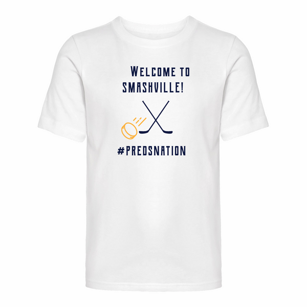 Smashville NASHVILLE PREDS - Youth Short Sleeve Tee