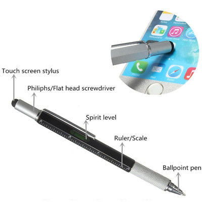 6-in-1 Multifunctional Stylus Pen