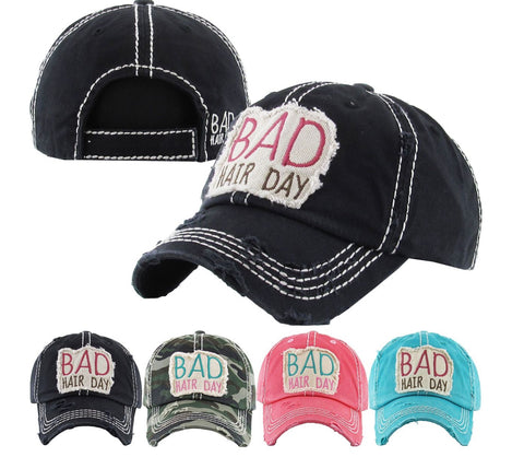 Bad Hair Day Vintage Cap
