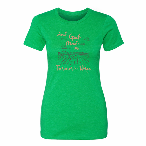 Farmer's Wife - Fitted Short Sleeve Tee