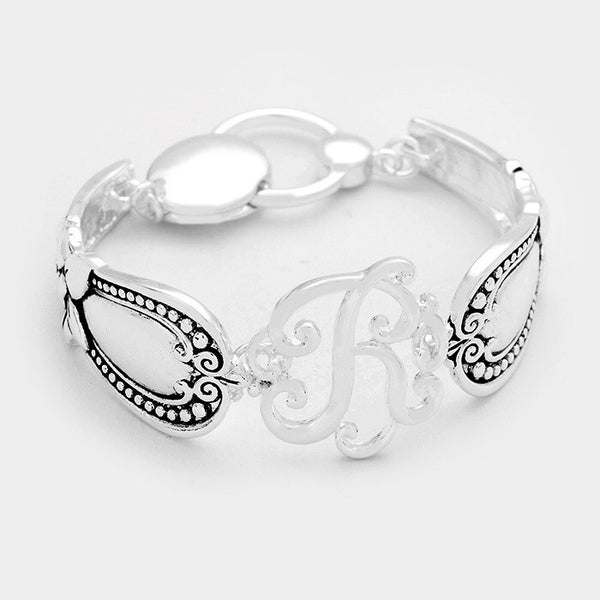 Monogram Spoon Bracelet