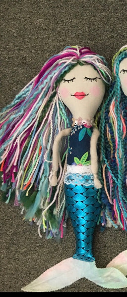 Handmade Mermaid Dolls