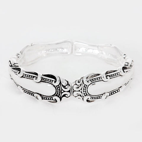 Stretch Spoon Bracelet