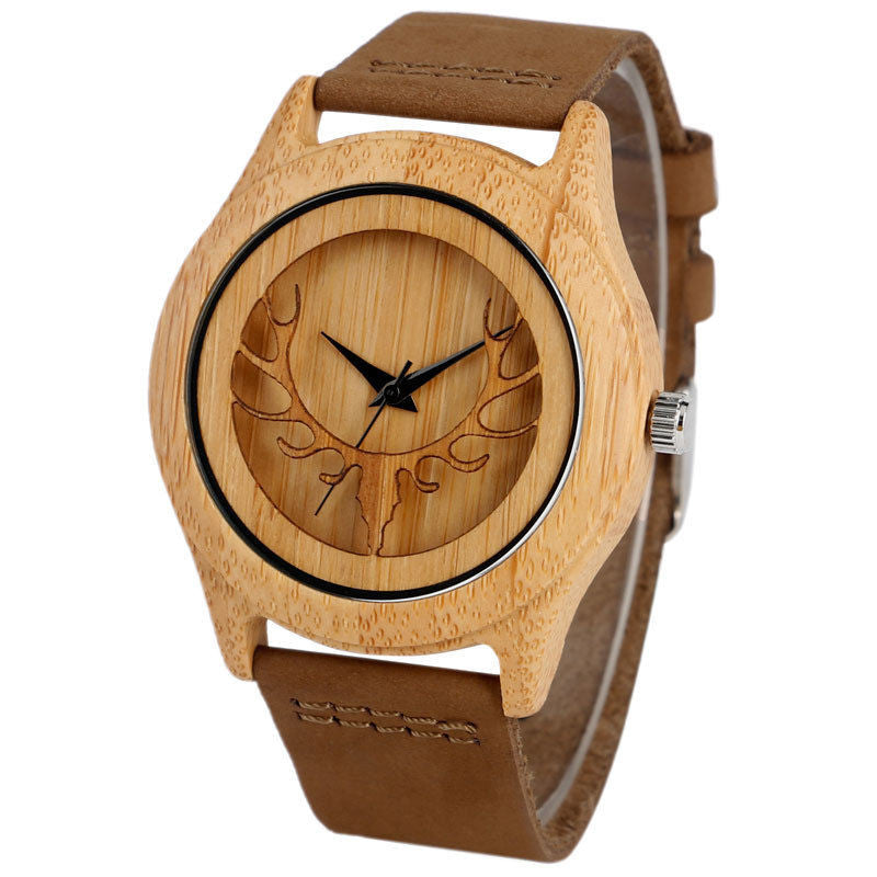 Men's Bamboo Antler Watch