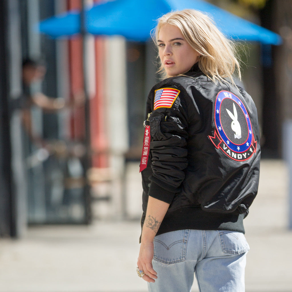 Playboy and Alpha Industries collaborate...