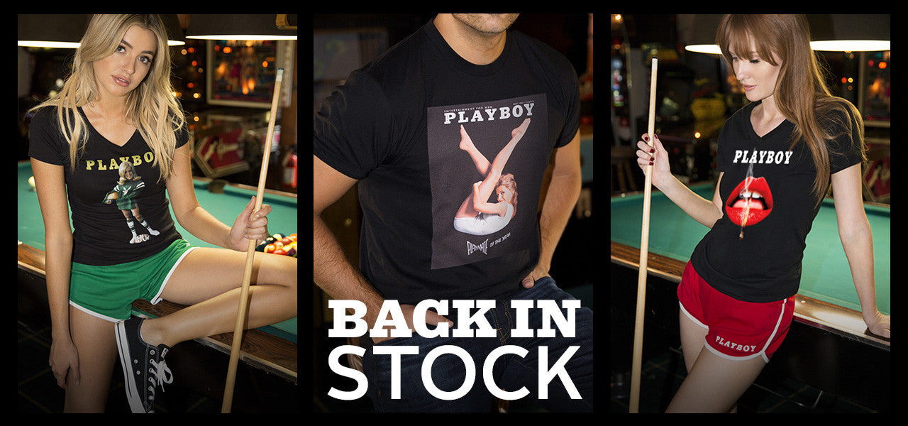 Playboy cover t-shirts