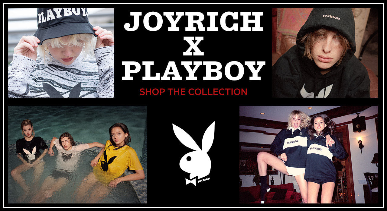Joyrich x Playboy collection