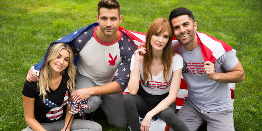 Playboy Stars + Stripes Collection