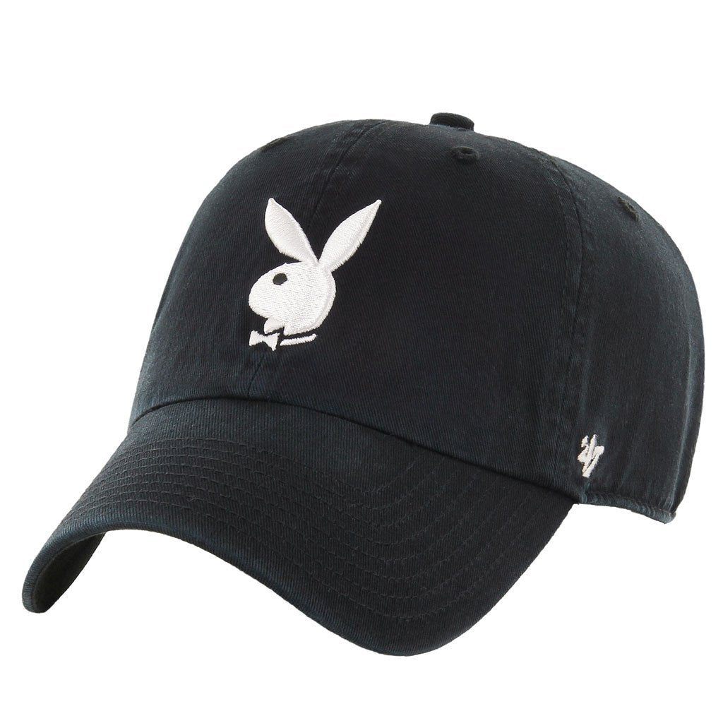 Men 39 s 39 47 rabbit head adjustable hat playboy shop for Hats and shirts with company logo