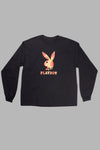 Palm Tree Rabbit Long Sleeve Tee