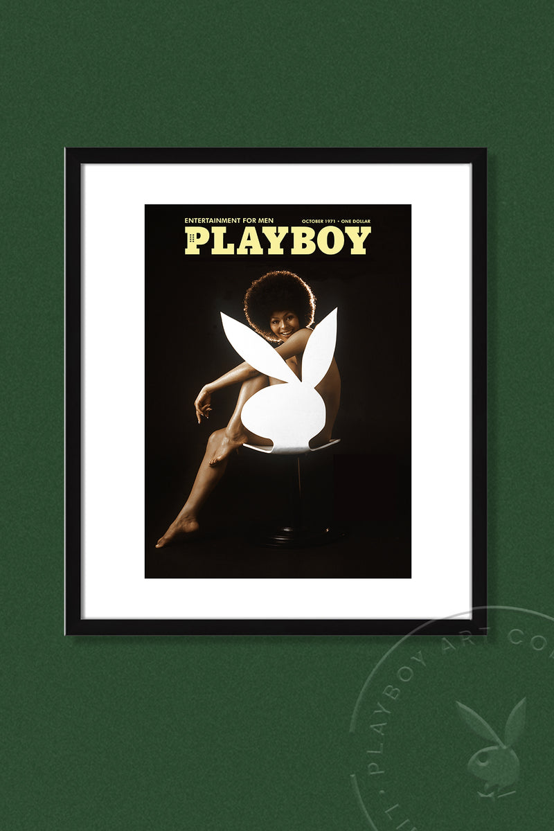 Limited Edition Darine Stern Playboy Cover Art Print