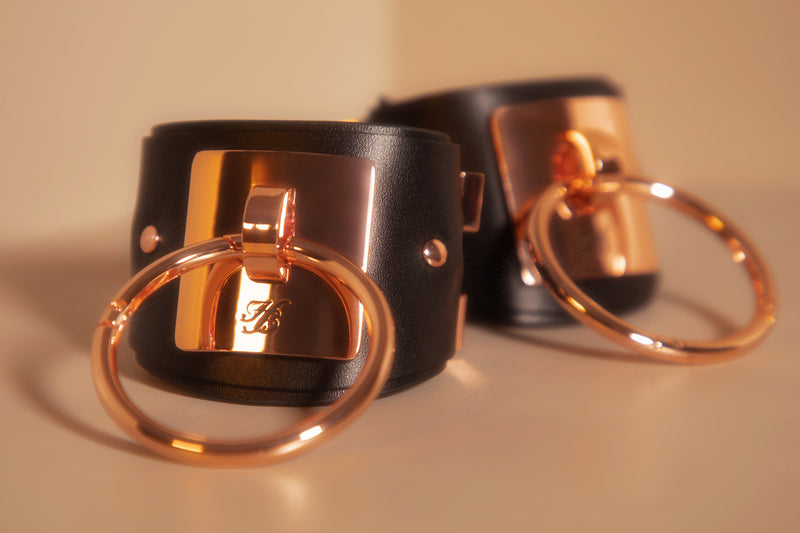 Equestrian Cuffs By Honey Birdette