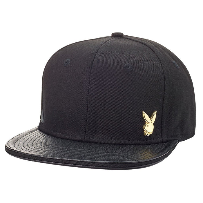 Metal Pin Strapback Hat