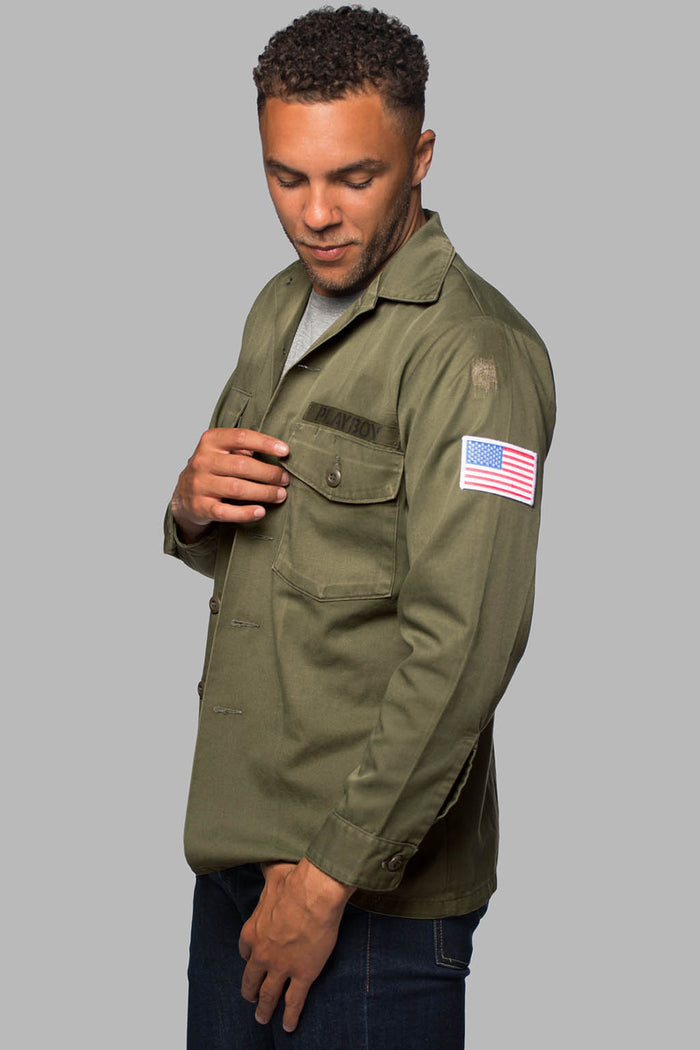 Military Insignia Field Coat