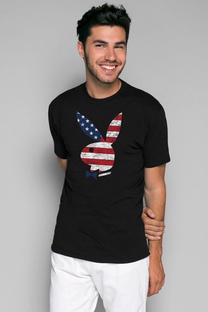 Stars + Stripes Flag Tee | Men's Tshirts | Playboy Shop