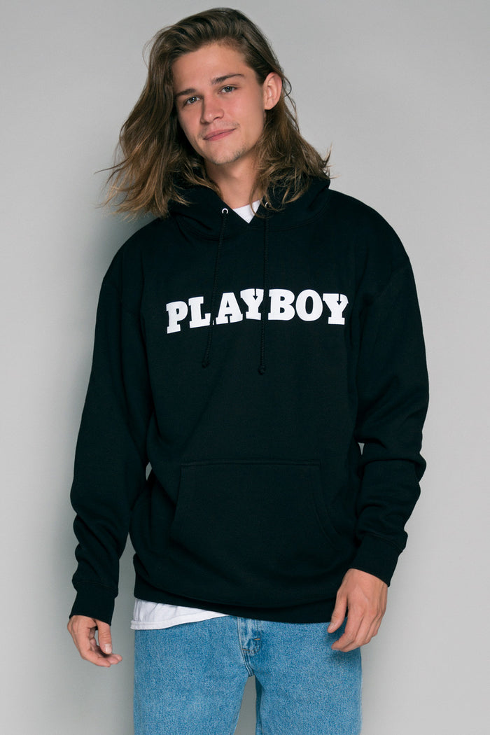 Playboy Pullover Hoodie | Men's Playboy Hoodies | Playboy Shop