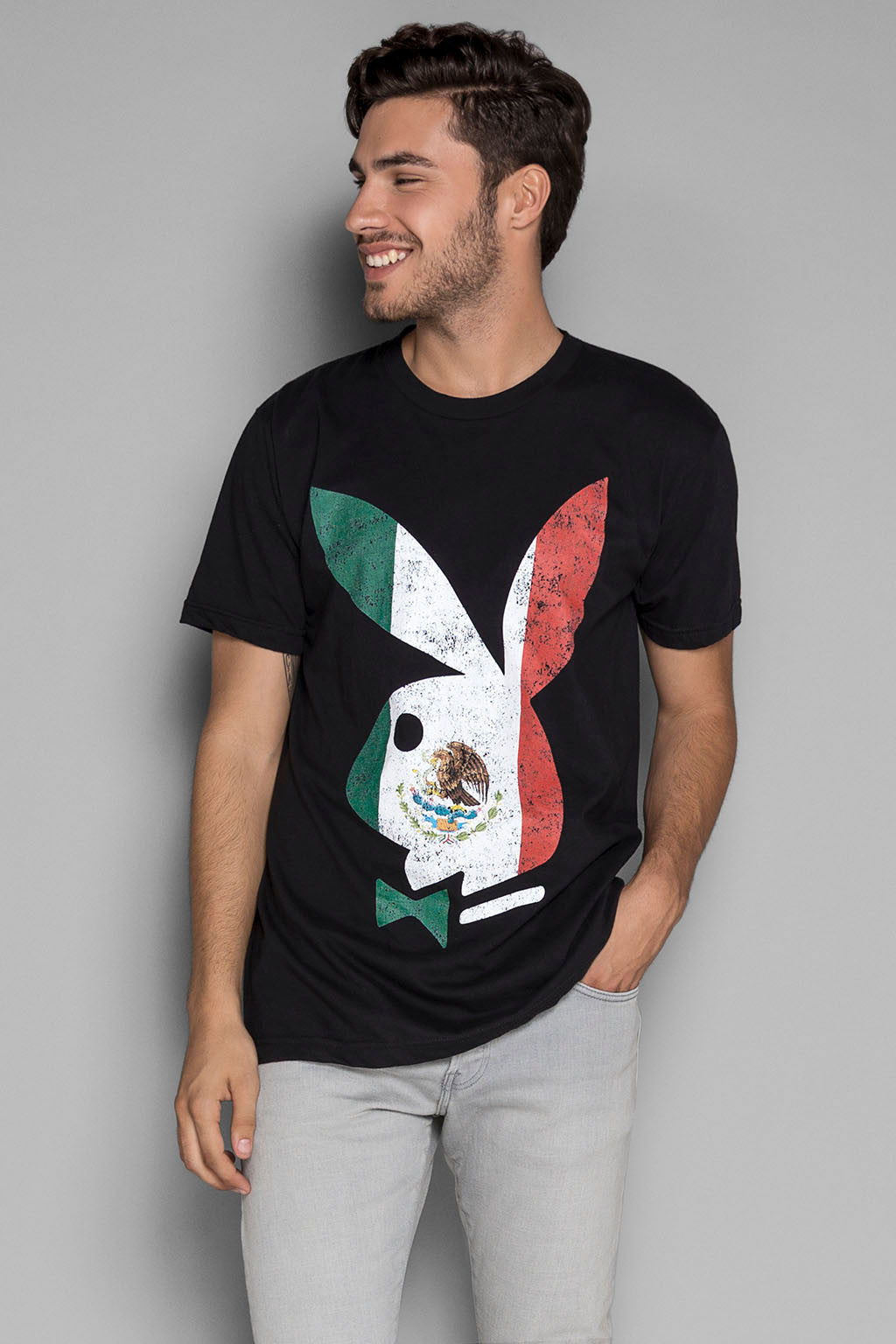 Mexico Flag Tee | Men's Tshirts | Playboy Shop