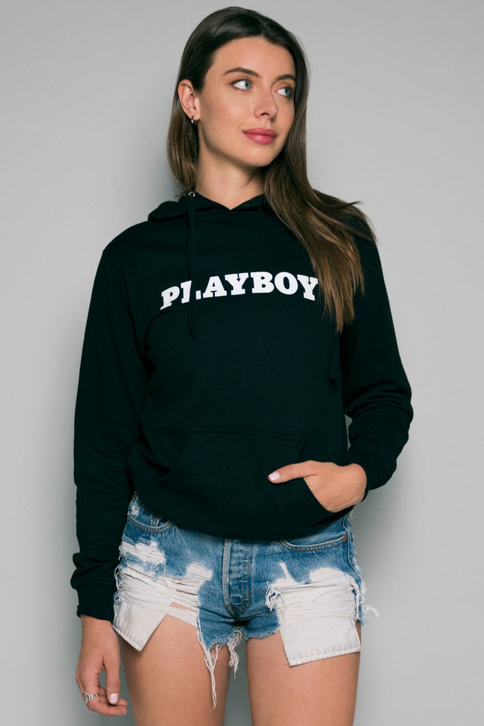 Playboy Pullover Hoodie | Women's Playboy Hoodies | Playboy Shop