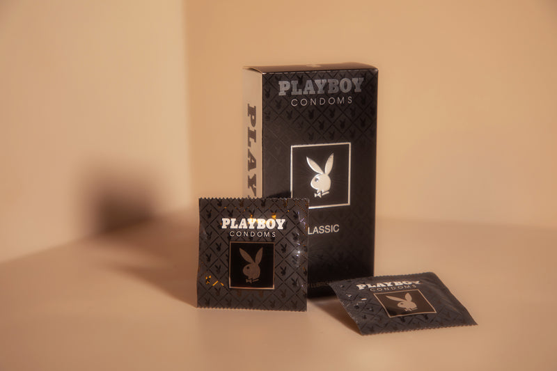 Playboy Condoms Classic Premium Lubricated Condoms