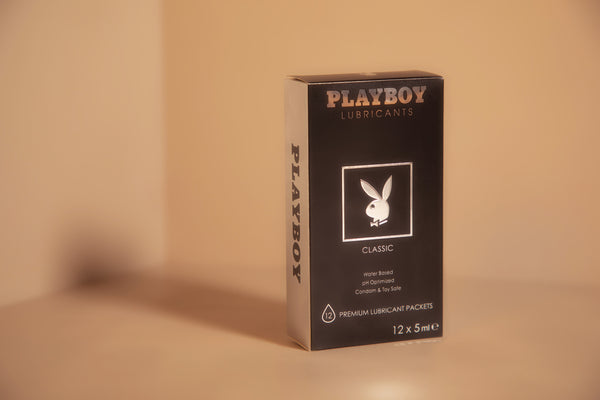 Playboy Condoms Classic Water Based Lubricant