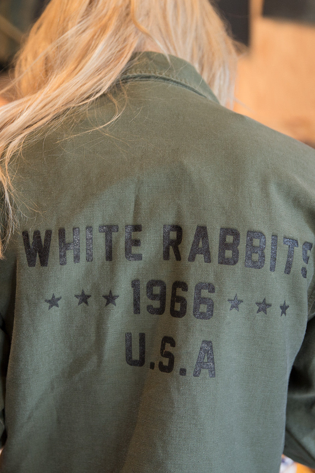 White Rabbits 1966 Field Coat | Military Field Coat | Playboy Shop