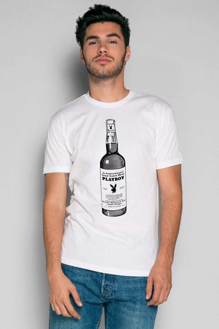 Whiskey To Go Tee | Men's Playboy Tshirts | Playboy Shop