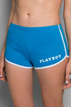 Playboy Wordmark Track Short | Playboy Shorts | Playboy Shop