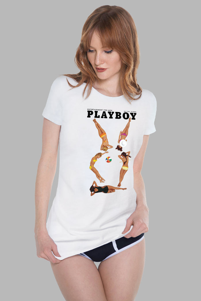 July 1966 Cover Tee | Women's Tees | Playboy Shop