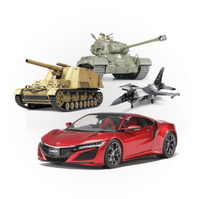 Car, Truck, and Military Plastic Models