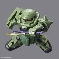 "Bandai - #04 Zaku II SDGCS Model Kit from ""Mobile Suit Gundam"""