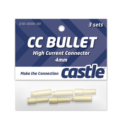 Castle Creations - 4mm Bullet Connectors