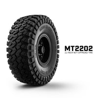 "Gmade - 2.2"" MT2202 1/10 Scale Crawler Off-Road Tires (2)"