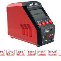 Hitec RCD - RDX1 Pro Single Channel 100W AC/DC Multi-Chemistry Charger