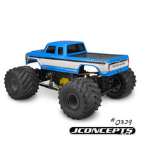 "J Concepts - 1979 Ford F-250 SuperCab Monster Truck Body w/ Bumpers-7"" Width & 12.75"" Wheelbase"