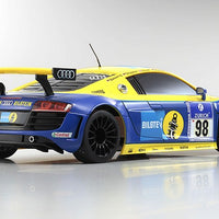Kyosho - MINI-Z RWD Audi R8 LMS NBR 2010 #98 MR-03 Readyset