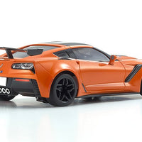 Kyosho - MINI-Z RWD Corvette ZR1 Sebring Orange w/ LED