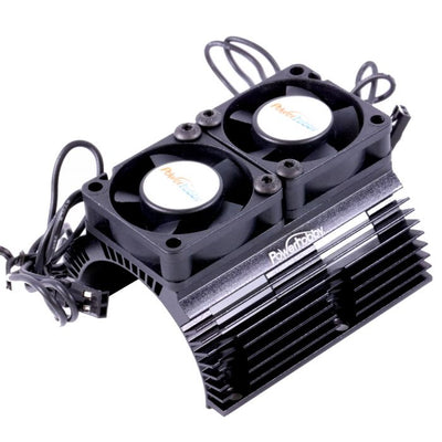 PHBPH1289BLACK-Power-Hobby-Heat-Sink-W-Twin