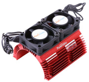 PHBPH1289RED-Power-Hobby-Heat-Sink-W-Twin
