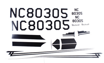 RGRA1198-Decal-Set;-Beechcraft
