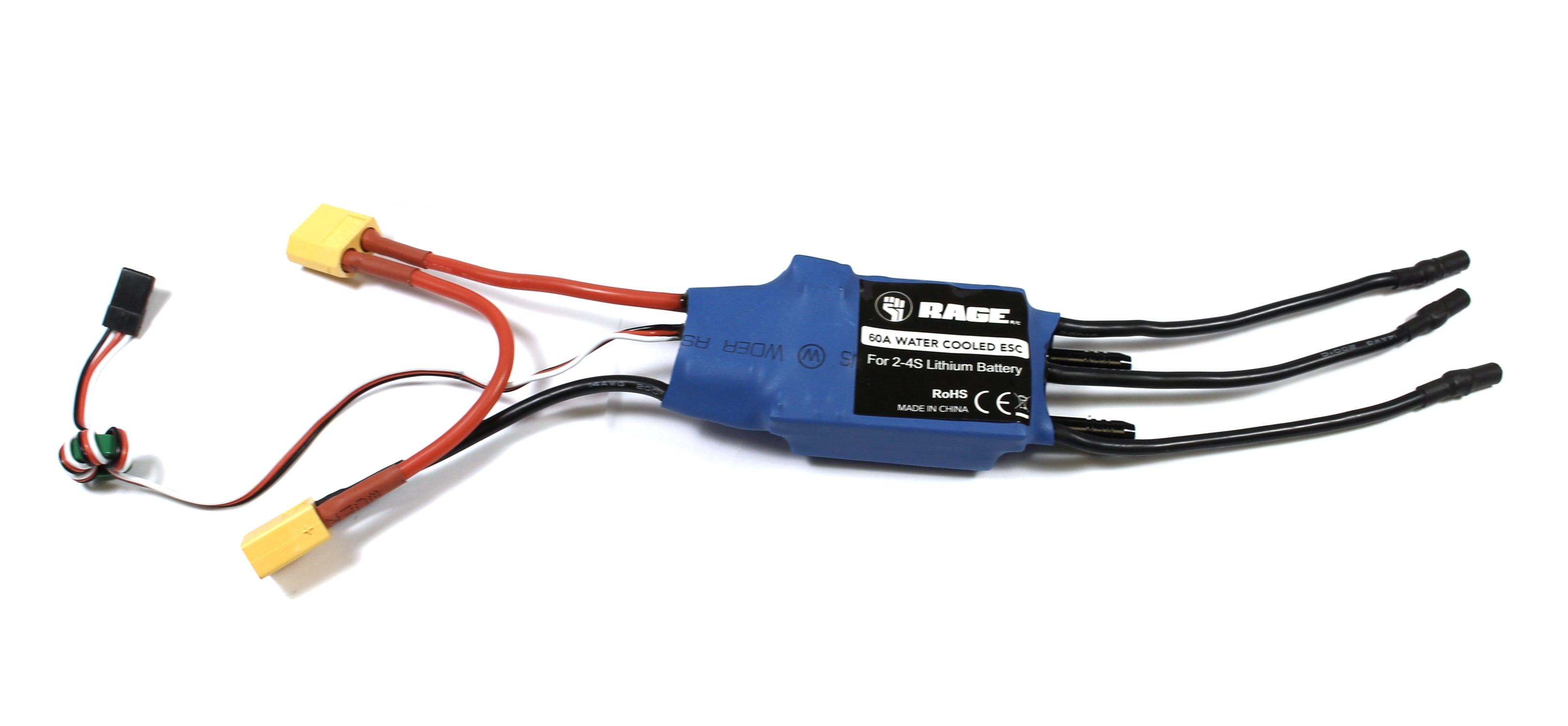 60a Brushless Esc Water Cooled Velocity 800 Hobby Recreation Wiring Rgrb1267