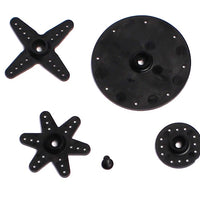 Savox - SH21M Plastic Standard Servo Horn Set, for Metal Gear Servos, 25 Tooth