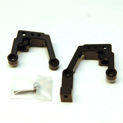 Black ST Racing Concepts SCX10 II HD Front Shock Towers w//Panhard Mount