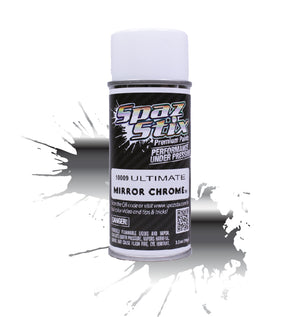 Spaz Stix - Ultimate Mirror Chrome Aerosol Paint, 3.5oz Can