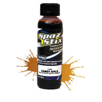 Spaz Stix - Candy Gold Airbrush Ready Paint, 2oz Bottle