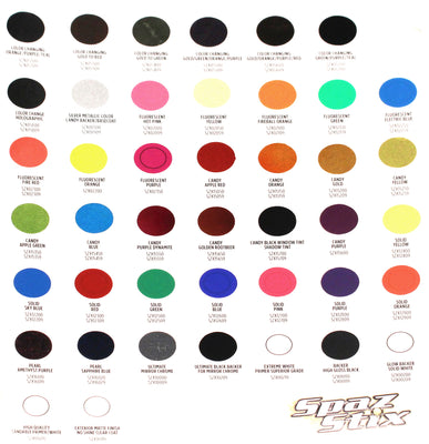 SZXCOLORCARD-Paint-Color-Identification