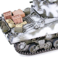 Tamiya - M4A3 Sherman 105mm Howitzer Assault Support Tank Plastic Model Kit